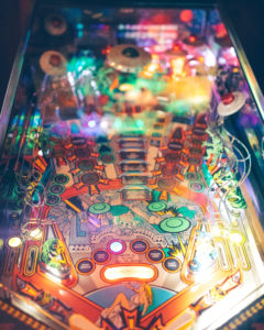 Pinball focus is the best